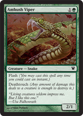 Ambush Viper | Magic: The Gathering Card