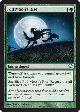 Full Moon's Rise | Magic: The Gathering Card