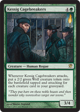 Kessig Cagebreakers | Magic: The Gathering Card