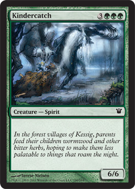 Kindercatch | Magic: The Gathering Card