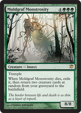 Moldgraf Monstrosity | Magic: The Gathering Card
