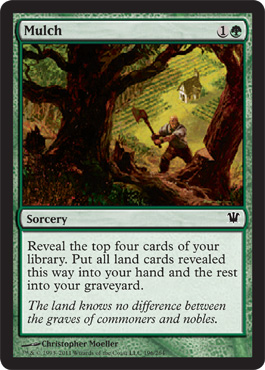 Mulch | Magic: The Gathering Card