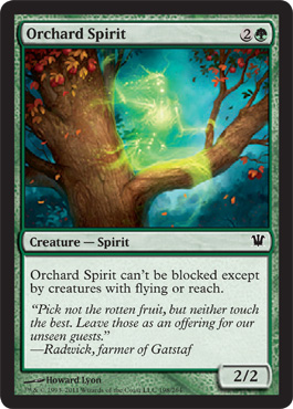 Orchard Spirit | Magic: The Gathering Card