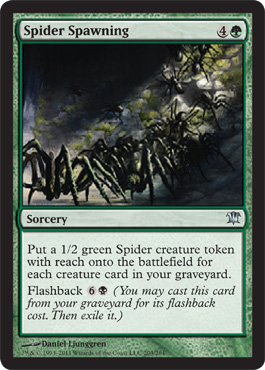 Spider Spawning | Magic: The Gathering Card