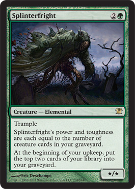 Splinterfright | Magic: The Gathering Card