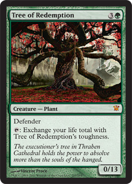 Tree of Redemption | Magic: The Gathering Card