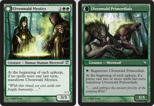 Ulvenwald Mystics / Ulvenwald Primordials | Magic: The Gathering Card