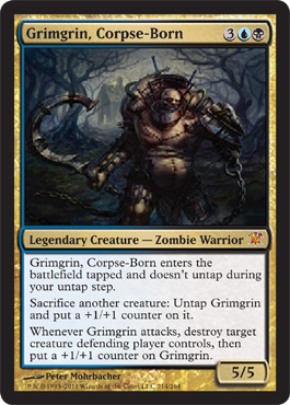 Grimgrin, Corpse-Born | Magic: The Gathering Card