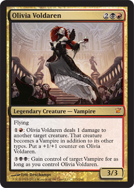 Olivia Voldaren | Magic: The Gathering Card