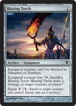 Blazing Torch | Magic: The Gathering Card
