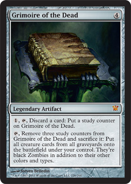 Grimoire of the Dead | Magic: The Gathering Card