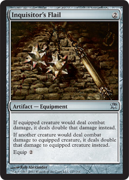 Inquisitor's Flail | Magic: The Gathering Card