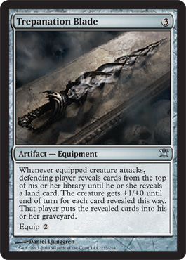 Trepanation Blade | Magic: The Gathering Card