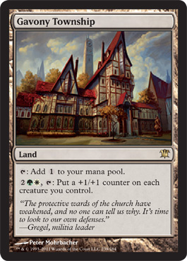 Gavony Township | Magic: The Gathering Card