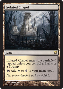 Isolated Chapel | Magic: The Gathering Card