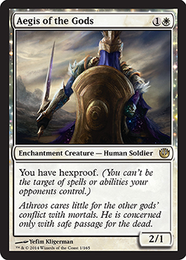 Aegis of the Gods | Magic: The Gathering Card