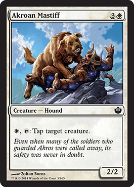 Akroan Mastiff | Magic: The Gathering Card
