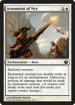 Armament of Nyx | Magic: The Gathering Card