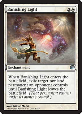 Banishing Light | Magic: The Gathering Card