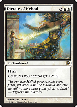 Dictate of Heliod | Magic: The Gathering Card