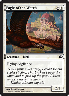 Eagle of the Watch | Magic: The Gathering Card
