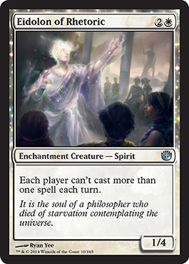 Eidolon of Rhetoric | Magic: The Gathering Card