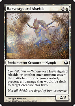 Harvestguard Alseids | Magic: The Gathering Card