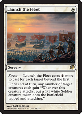 Launch the Fleet | Magic: The Gathering Card