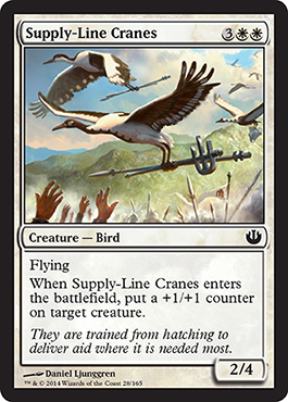 Supply-Line Cranes | Magic: The Gathering Card