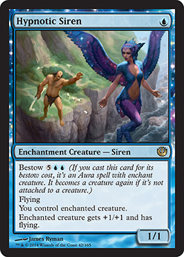 Hypnotic Siren | Magic: The Gathering Card