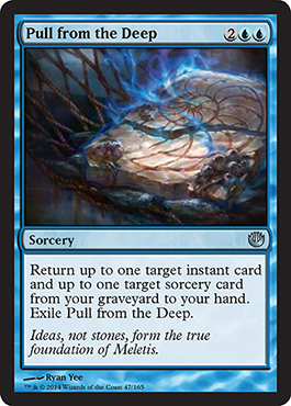 Pull from the Deep | Magic: The Gathering Card