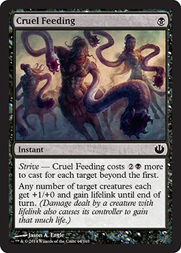 Cruel Feeding | Magic: The Gathering Card