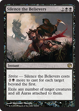 Silence the Believers | Magic: The Gathering Card