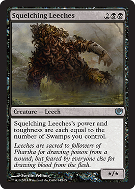Squelching Leeches | Magic: The Gathering Card