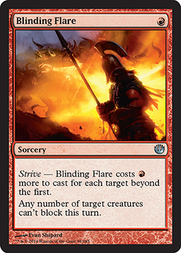 Blinding Flare | Magic: The Gathering Card
