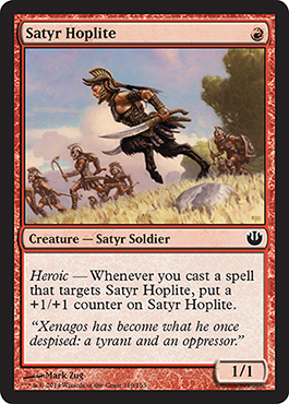 Satyr Hoplite | Magic: The Gathering Card