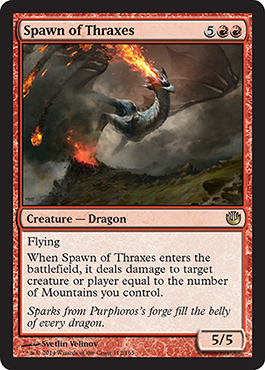 Spawn of Thraxes | Magic: The Gathering Card