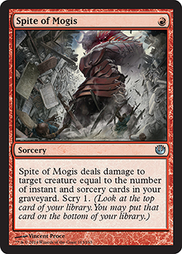 Spite of Mogis | Magic: The Gathering Card