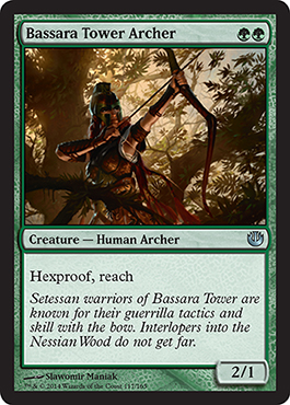Bassara Tower Archer | Magic: The Gathering Card