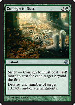 Consign to Dust | Magic: The Gathering Card