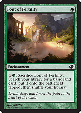 Font of Fertility | Magic: The Gathering Card