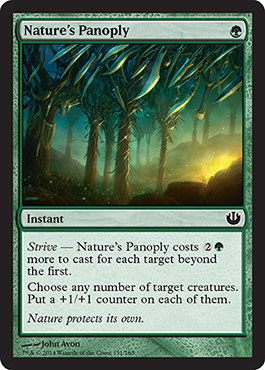 Nature's Panoply | Magic: The Gathering Card