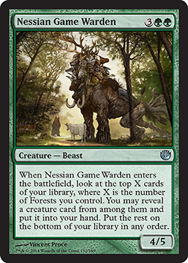 Nessian Game Warden | Magic: The Gathering Card