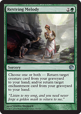Reviving Melody | Magic: The Gathering Card