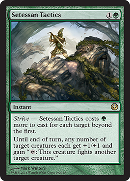 Setessan Tactics | Magic: The Gathering Card