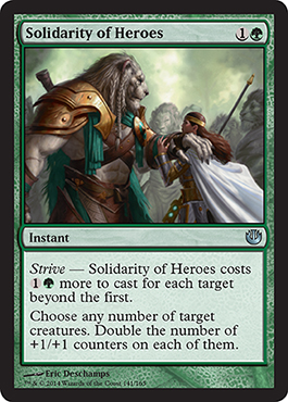 Solidarity of Heroes | Magic: The Gathering Card