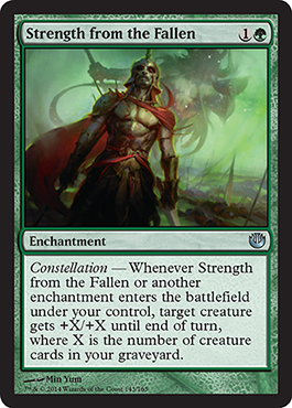 Strength from the Fallen | Magic: The Gathering Card