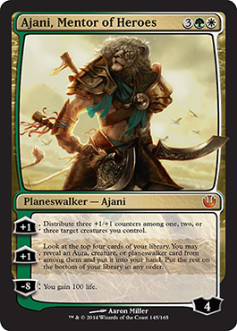 Ajani, Mentor of Heroes | Magic: The Gathering Card