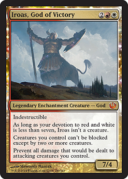 Iroas, God of Victory | Magic: The Gathering Card