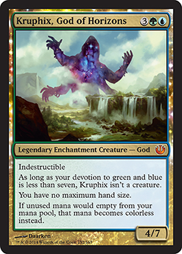 Kruphix, God of Horizons | Magic: The Gathering Card